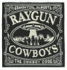 The Raygun Cowboys-Cowboy Code Embroidered Patch