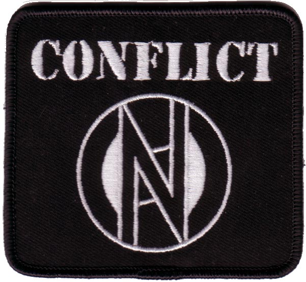 Conflict Logo Patch