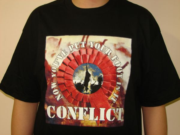Conflict Now You've Put Your Foot In It Tee