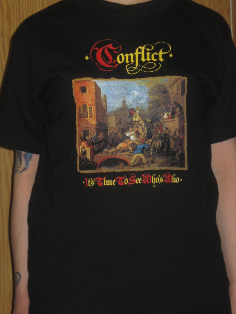 Conflict - T-Shirt - Time to See Who`s Who