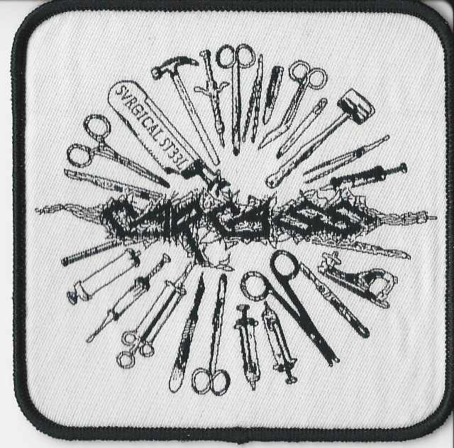 Carcass- Surgical Steel Woven Patch