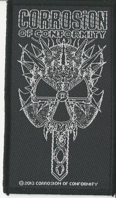 Corrosion Of Conformity- 2012 Skull Woven Patch