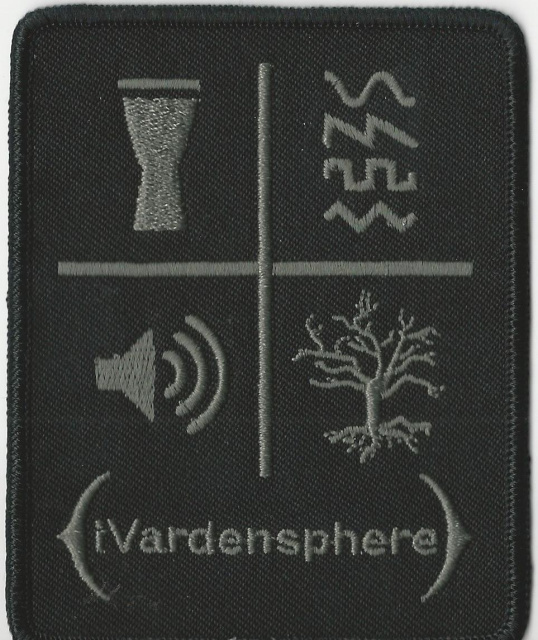 iVardensphere- Symbols Embroidered Patch